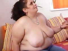 Fat super size women gets hit by horny..