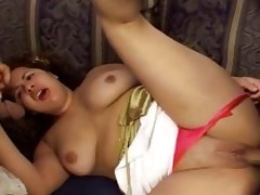 Fat ladies whore in nasty threesome