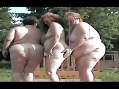 Three amateur bbw mature