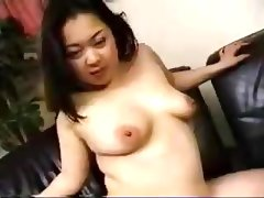 Japanese chubby wife blowjob
