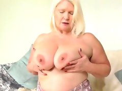 Agedlove mature blonde lacey playing..