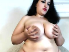 Incredible that is attractive bbw cam