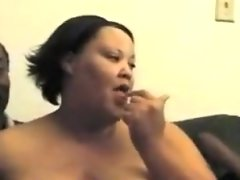 Fat girl with very nice ass fucked..
